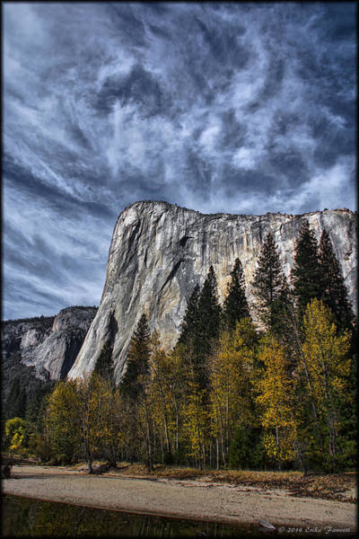 Photograph - El Capitan by Erika Fawcett