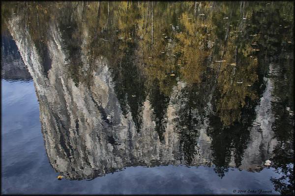 Photograph - El Capitan Reflection by Erika Fawcett