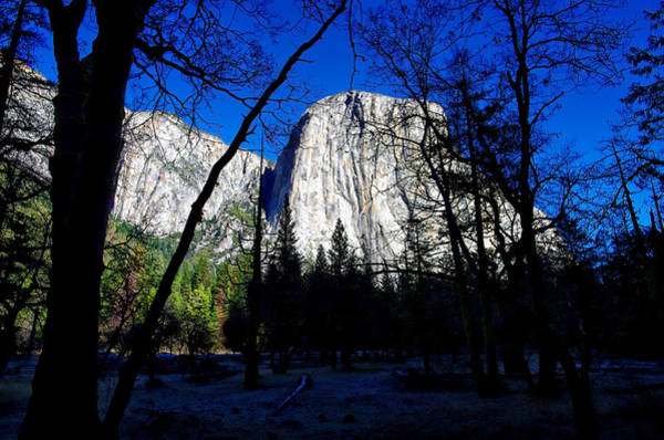 Photograph - El Capitan Winter Morning by Scott McGuire