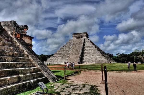 Yucatan Wall Art - Photograph - El Castillo Chichen Itza by Rex Montalban Photography