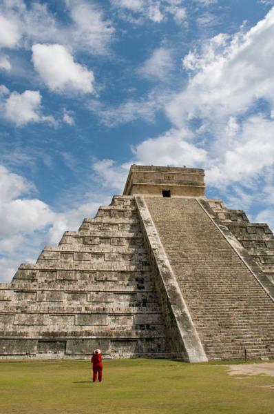 Yucatan Wall Art - Photograph - El Castillo, Pyramid Of Kukulkan by Sabrina Dalbesio