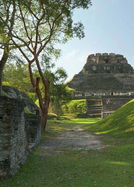 Ancient America Photograph - El Castillo Pyramid, Xunantunich by William Sutton