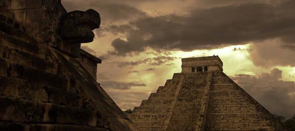 Yucatan Wall Art - Photograph - El Castillo The Castle Pyramaid, Aka by Guylain Doyle