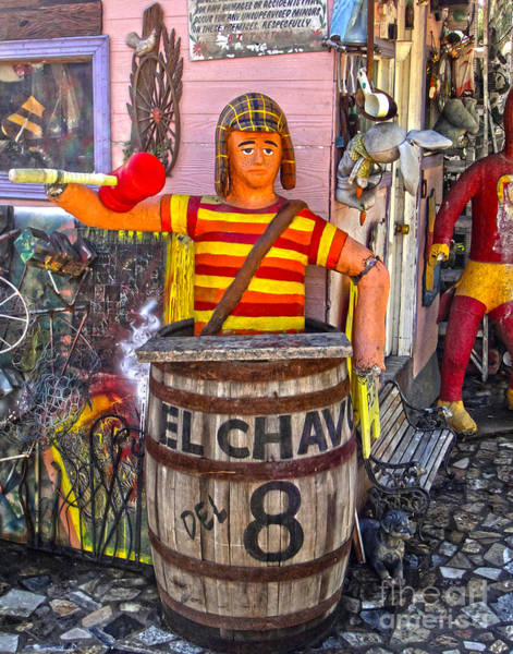 Painting - El Chavo by Gregory Dyer