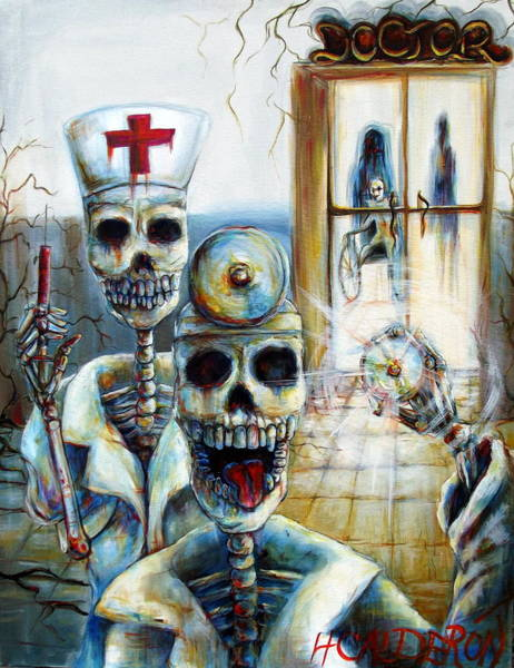 Abandonment Wall Art - Painting - El Doctor by Heather Calderon