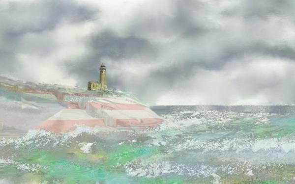 Digital Art - El Faro by Tony Rodriguez