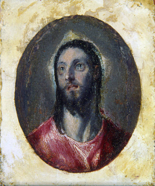 Wall Art - Painting - El Greco Christ, C1600 by Granger