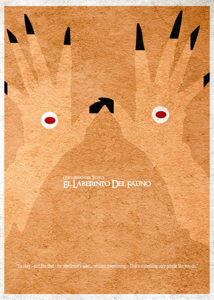 Designs Digital Art - El Laberinto Del Fauno - 2 by Inspirowl Design