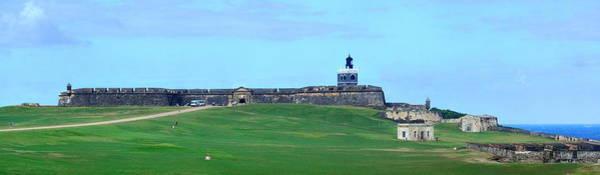 Photograph - El Morro Castle Panorama by Songquan Deng