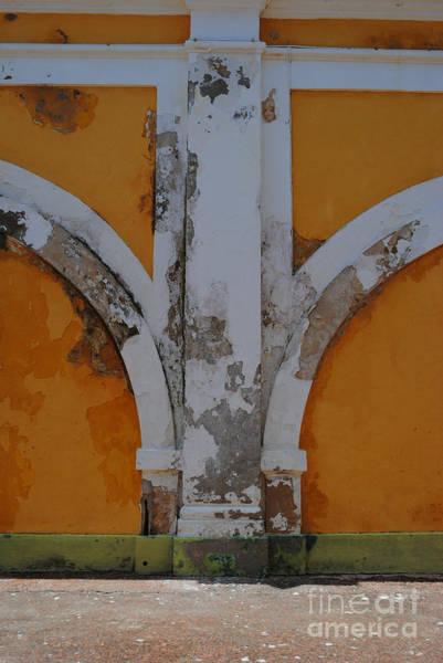 Photograph - El Morro Deep Yellow Arch by George D Gordon III
