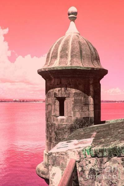 Sentry Box Photograph - El Morro In The Pink by The Art of Alice Terrill