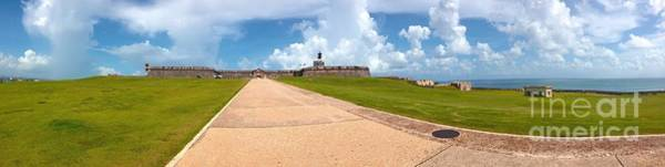 Fisher Island Photograph - El Morro Walkway by Carey Chen