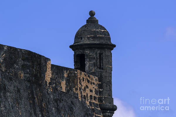 Sentry Box Photograph - El Morro's Garitas by Mary Lou Chmura