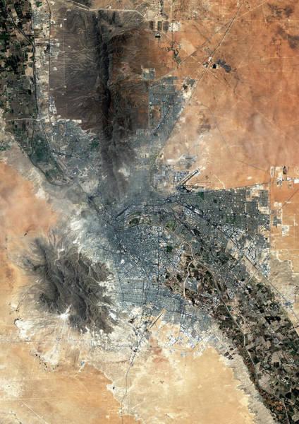 El Paso Wall Art - Photograph - El Paso by Planetobserver/science Photo Library