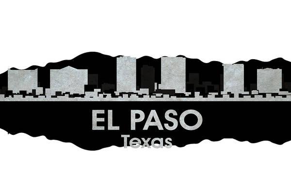 Mixed Media - El Paso Tx 4 by Angelina Tamez