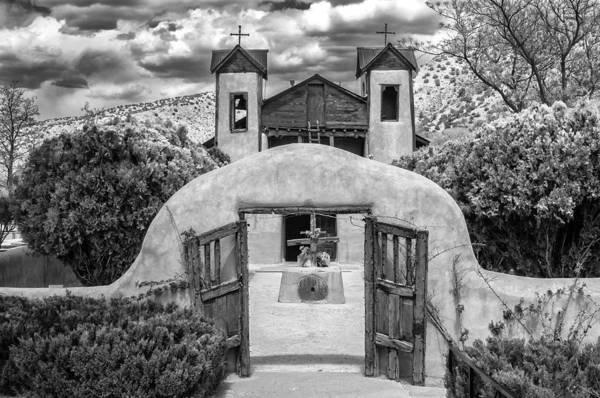 Photograph - El Santuario De Chimayo by Lou  Novick