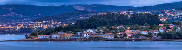 Photograph - El Seijo Panorama Mugardos Galicia Spain by Pablo Avanzini