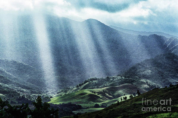 Photograph - El Yunque And Sun Rays by Thomas R Fletcher