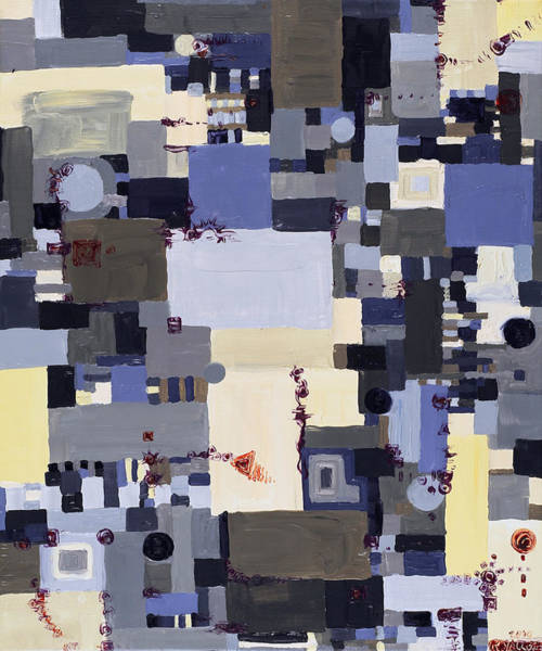 Painting - Elastic Dialog by Regina Valluzzi