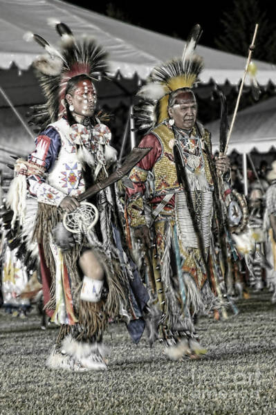 Wall Art - Photograph - Elder Chief And Son Muted Color by Scarlett Images Photography
