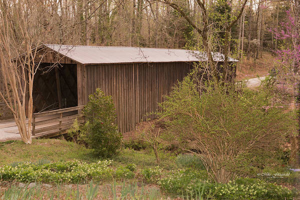 Photograph - Elders Mill Covered Bridge by Mike Fitzgerald
