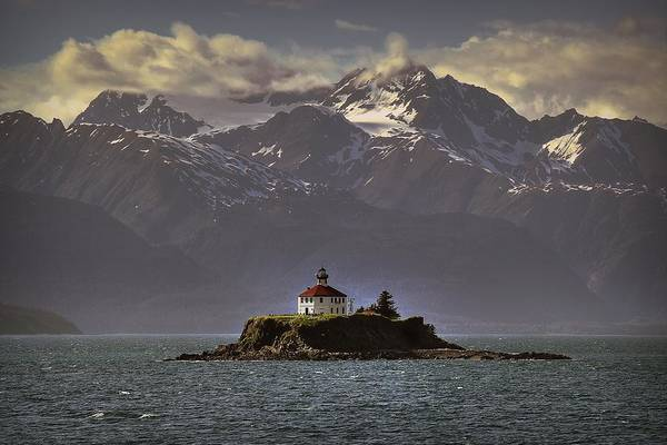 Photograph - Eldred Rock Lighthouse Alaska by Ryan Smith