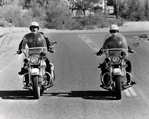 Glide Photograph - Electra Glide In Blue  by Silver Screen