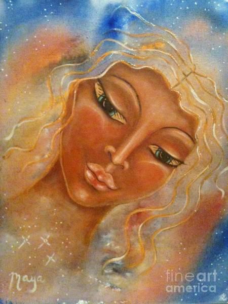 Pleiades Painting - Electra by Maya Telford