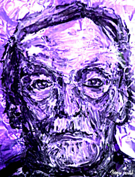 Serial Killer Painting - Electric Albert Fish by Norman Twisted