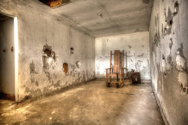 Photograph - Electric Chair by John Magyar Photography