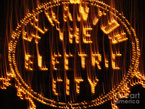 Wall Art - Photograph - Electric City Fireworks 2013 by Daniel Henning