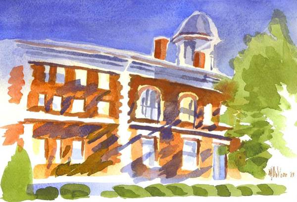 Painting - Electric Courthouse by Kip DeVore