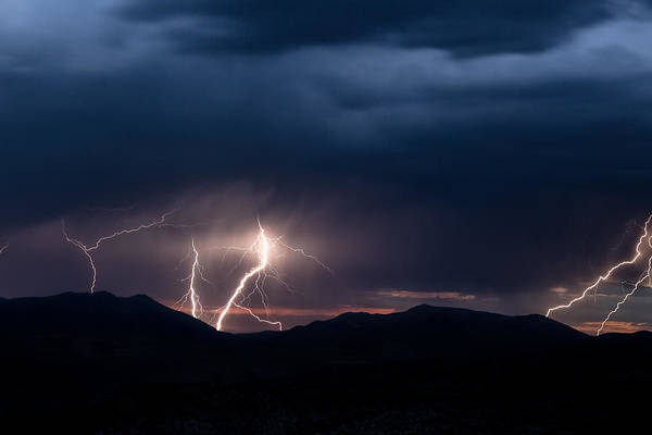Photograph - Electric Desert by Ryan Heffron
