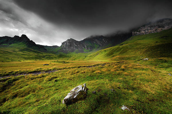 Storm Photograph - Electric Green by Philippe Sainte-laudy Photography