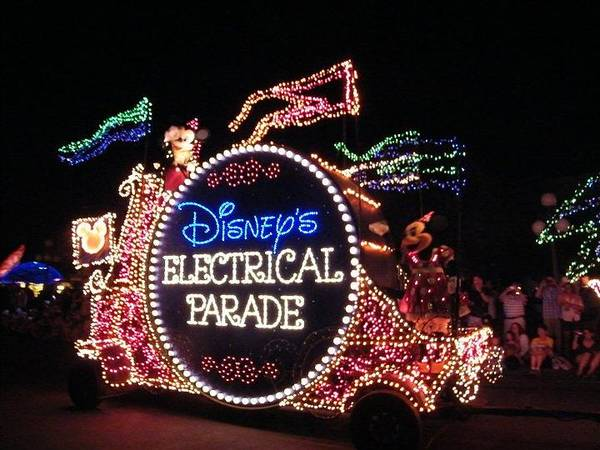 Photograph - Electric Parade Classic by Ronda Douglas