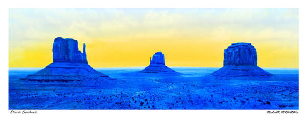 Wall Art - Photograph - Electric Southwest by Mike McGlothlen