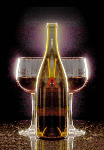 Brandy Photograph - Electric Wine by Jon Neidert