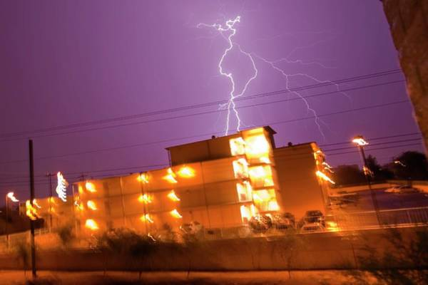 Electric Storm Photograph - Electrical Storm by Mike Theiss/science Photo Library