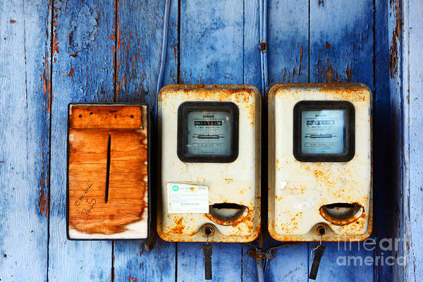 Photograph - Electricity Bill Blues 1 by James Brunker