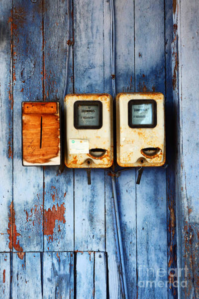Photograph - Electricity Bill Blues 2 by James Brunker