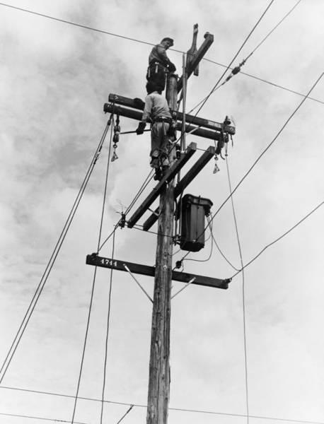 San Joaquin Valley Photograph - Electrification, 1938 by Granger