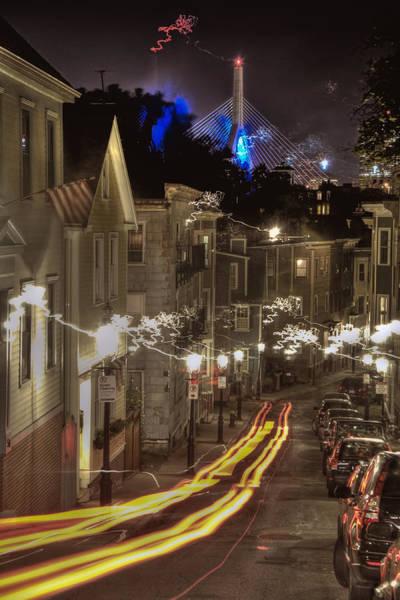 Photograph - Electrified Boston by Joann Vitali