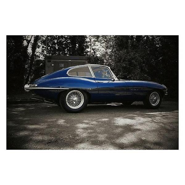 Jaguar Photograph - Electro Glide In Blue Ll  #congleton by Adam Hurst