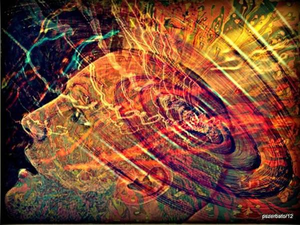 Exhaust Digital Art - Electromagnetic Waves by Paulo Zerbato
