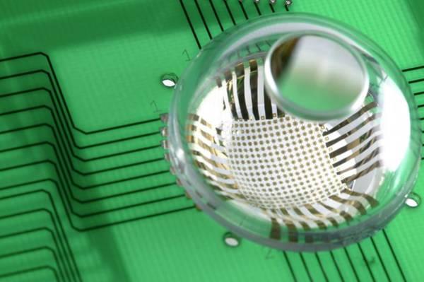 Biomimetics Wall Art - Photograph - Electronic Eyeball Camera by Professor John Rogers, University Of Illinois