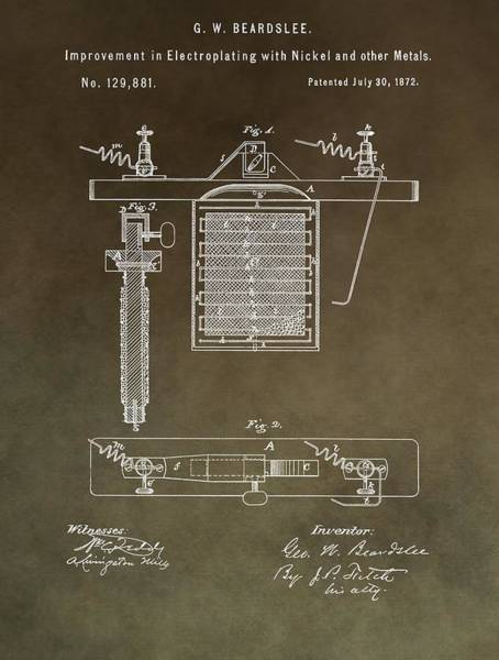 Change Mixed Media - Electroplating Procedure Patent by Dan Sproul
