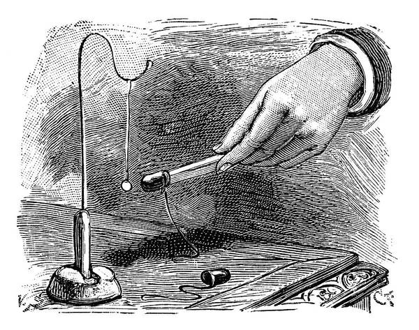 Demonstrating Wall Art - Photograph - Electrostatics Experiment by Science Photo Library