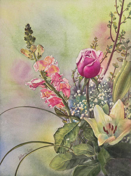 Painting - Elegance by Victoria Lisi