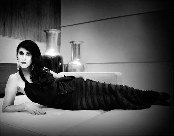 Wall Art - Photograph - Elegant Seduction Film Noir by William Dey