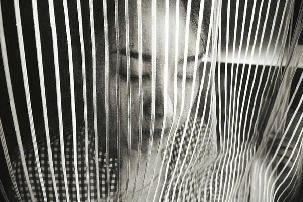 Curtains Photograph - Elegy by Koji Sugimoto